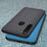 Bakeey Luxury Cotton Cloth Shockproof Protective Case for Xiaomi Redmi Note 8