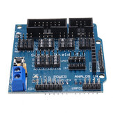 5Pcs UNO R3 Sensor Shield V5 Expansion Board Geekcreit for Arduino - products that work with official Arduino boards