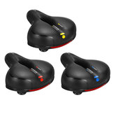 Extra Wide Breathable Comfy Cushioned Universal Bike Seat Waterproof Damping Bicycle Soft Padded Saddle