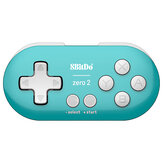 8Bitdo Zero 2 Mini contrôleur de jeu de manette de jeu bluetooth pour Nintendo Switch pour Windows Android pour mac OS Steam Raspberry Pi