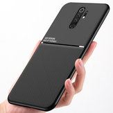 Bakeey Magnetic Non-slip Leather Texture TPU Shockproof  Protective Case for Xiaomi Redmi Note 8 Pro Non-original
