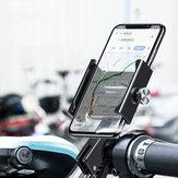 BaseusAviationAlloyRowerMotocyklSkuter Kierownica Lusterko wsteczne Uchwyt telefonu Obrót o 360º Obrót o 4,7-6,5 cala Smart Phone