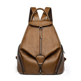 Leather Backpack for Women, Kadell Fashion Ladies Purse Anti Theft Bag Casual Travel Rucksack Shopping Daypack