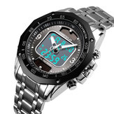 SKMEI 1493 Waterproof Luminous Display Dual Display Watch