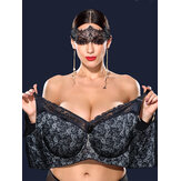Plus Size K Cup No Padding Full Coverage Women Bras