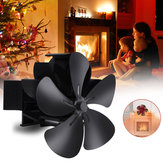 7.1inch 1500RPM 5 Blade Kamin Fan Winter Warm Stove Heater Fan Wärmebetriebener Lüfter