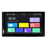 X2 7 Inch 2 Din HD Car Radio MP5 Player Touch Screen bluetooth FM USB TF Card AUX Remote Support Rear View Camera