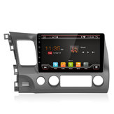 YUEHOO 10.1 Polegada para Android 8.0 Carro MP5 Player 2 + 32G Rádio Estéreo GPS WIFI 4G bluetooth FM FM AM RDS para Honda Civic 2006-2011