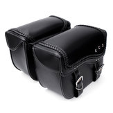 PU Leather Motorcycle Saddlebags Side Luggage Pannier Tool Storage Bag For HARLEY SPORTSTER