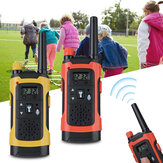 2Pcs Niños Wireless Walkie Talkie Long Range Kid Set Juguetes electrónicos