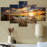 Büyük Güneş Sky Modern Soyut Duvar Dekor Sanat Yağ Boyama Tuval Sanat Süslemeleri