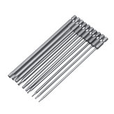10pcs 150mm Torx Head Screwdriver Bit Hex Shank TT8-TT40 Power Drill Screwdriver Bits Set