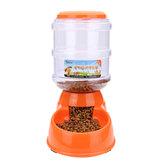 3.5L Büyük Otomatik Pet Köpek Kedi Yiyecek İçecek Dispenseri Su Kase Besleyici Bulaşık