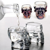 100 ml Clear Head Glass Cup Clear Skull Water Cup Creatief Transparant Bar Drinkglas