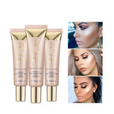 O.TWO.O Shimmer Highlighter Blush Cream 25ml Primer Basis Contouring Concealer Sorot Pemutih Pelembab Oil-control Kosmetik