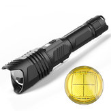 XANES X913 LED Flashlight P90/P70/P50 XHP90 4Modes Zoomable USB Rechargeable Waterproof Flashlight 26650/18650 Flashlight