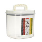 5KG Clear Container Storage Holders Rice Beans Cereal Organzier Grain Box Lid Kitchen Storage Rack