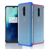For OnePlus 7T Pro Case Bakeey 3 In 1 Detachable Matte Translucent Plating Shockproof PC Protective Case