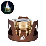 Hewolf HW-1836 Outdoor Portable Alcohol Cooking Stove Mini Burner Furnace Camping Picnic