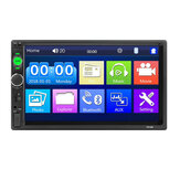 Upgraded 7010B 7 Inch Car MP5 Player bluetooth Stereo Radio IPS Full View HD Touch Screen Support DSP FM USB AUX
