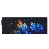 Мангровая жимолость USB проводная RGB Colorful с подсветкой LED Мышь Коврик для игровой Мышь E-Sport