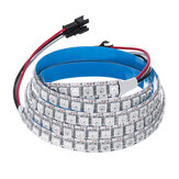 100CM WS2812B 5050SMD Non impermeabile 100 LED Striscia RGB integrata IC per bar dell'hotel DC5V