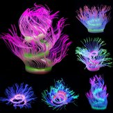 Aquarium Fish Tank Waterplant Decor Glowing Sea Anemone Coral Plant Ornement Nouveau