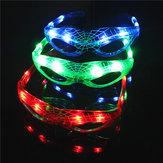 LED-gloeiende bril Flash Lichtgevende blinde brillen Feestverlichting Bruiloft Carnaval Dansbar Kerst Speelgoed