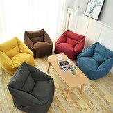 75 * 65 * 40cm couverture de sac de haricot et trousse de toilette chaise intérieure pour adultes enfants multicolore paresseux canapé