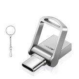 Moreslan 2 em 1 Type-C USB 3.0 32GB OTG Flash Pen Drive para Type-C Smart Phone Laptop