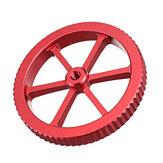 Porca de nivelamento vermelha metálica de tamanho grande atualizada Creality 3D® para plataforma de impressão Cama aquecida para impressora 3D