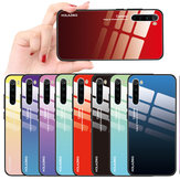 Custodia protettiva in vetro temperato antiurto Bakeey Gradient Color per Xiaomi Redmi Note 8