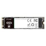 BlitzWolf® BW-SA1 M.2 SATA Solid State-schijf 6 Gb / s SSD 128 GB met snel lezen / schrijven met 524 MB / s 468 MB / s voor laptop desktop harde schijf