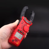 HT200A High Accuracy Mini Digital AC DC Clamp Meter Voltage Current Measurement Amper Clamp Meter