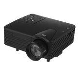LCD-Projektoren 640 * 480 Unterstützung 1080P 400LM 100 Zoll Drahtloser tragbarer Smart-Heimkino-Projektor mit Fernbedienung
