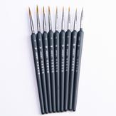 Caneta Linha Gancho Pintura Escova Canetas de Desenho de Arte Escovas Caneta Gancho Para Suprimentos de Pintura Acrílica