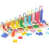 Children's Mathematics Teaching Aid Abacus Computing Frame Blocks Toys