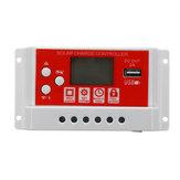 10A 12V / 24V Solar Panel Batterie Regler Laderegler 3-stufig PWM LCD