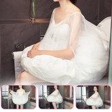 ब्राइडल वेडिंग ड्रेस के लिए टॉयलेट बडी पेटीकोट स्कर्ट अंडरकटर्क 65-105 सेमी