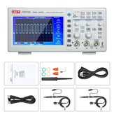 UNI-T UTD2102e Digital Oscilloscope 100MHz with USB OTG Logic Analyzer Bandwidth 2 Channels 500Ms/S Storage Portable 7