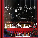 Miico XL803 Christmas Sticker Home Decoration Sticker Window and Wall Sticker Shop Decorative Stickers