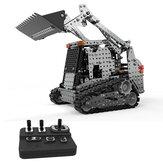 SWRC 008 2.4G 10CH 1178PCS Aço inoxidável DIY Carro RC para veículos modelo Caterpillar Forklift
