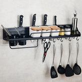 Organização da cozinha Rack de armazenamento Suporte de parede Caneca de café Caneca Armário Prateleira cabide