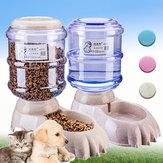 3.8L Grande Distribuidor Automático de Bebidas para Alimentos para Animais de Estimação Cachorro Alimentador de Gato Tigela de Água Bebedouro Automático
