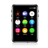 IQQ X62 16GB Verlustfreier Musik-MP3-Player mit Lautsprecherunterstützung Externer FM-E-Book-Alarm