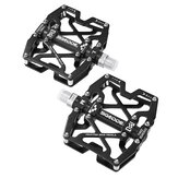 SGODDE 1 Pair Bike Pedals Aluminum Alloy Cycling Bicycle Platform Anti-slip Bicycle Pedal