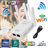 Wifi Repeater Router 300 Mbps 2,4 GHz Hot Wifi Repeater Draadloze router Bereik Extender-signaal Booster met antenne