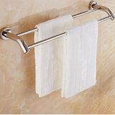 Podwójny wieszak na ręczniki Bar Naścienny wieszak na ręczniki ze stali nierdzewnej Uchwyt na wieszak na ręczniki Uchwyt łazienkowy