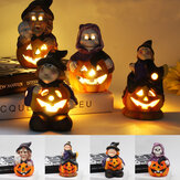 Lampa LED Halloween Witch Pumpkin Party Holiday Light Ozdoba biurka do domu Ozdoba