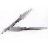 2 paar HQprop duurzaam T5X3 5 Inch 5030 Propeller grijs polycarbonaat voor RC Drone FPV Racing